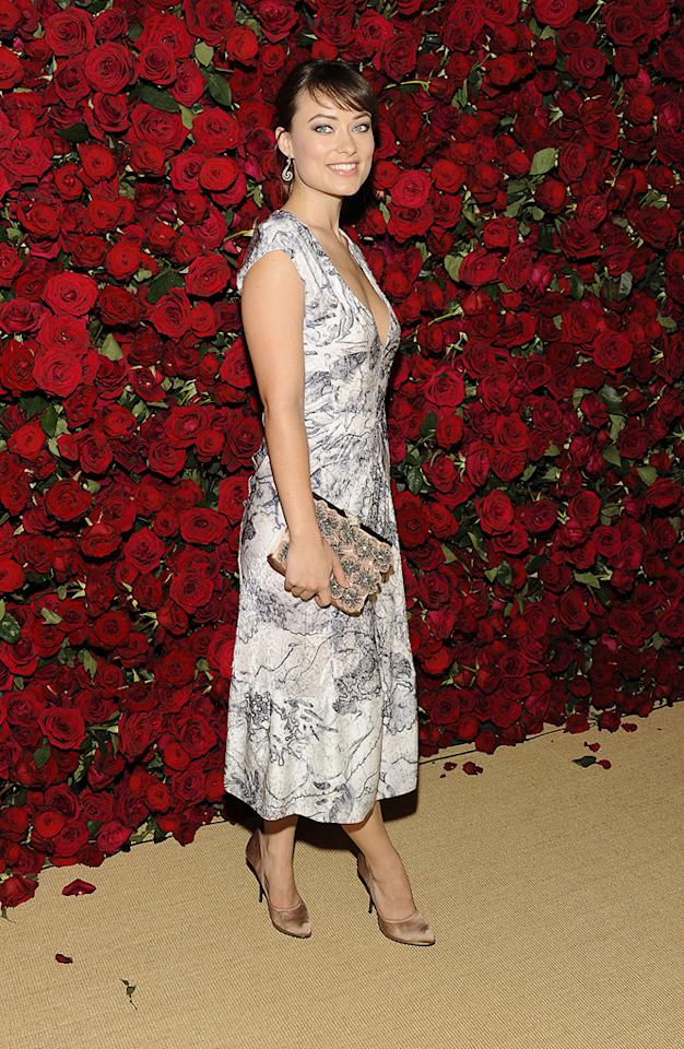 """<a href=""""http://movies.yahoo.com/movie/contributor/1808489542"""">Olivia Wilde</a> attends the Museum of Modern Art's 4th annual film benefit """"A Tribute to Pedro Almodovar"""" at the Museum of Modern Art on November 15, 2011 in New York City."""