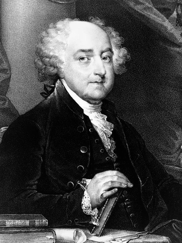 Presiden John Adams (Library of Congress/Unsplash).
