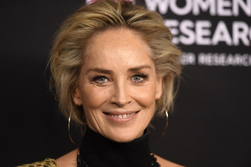 Sharon Stone shared her body confidence issues in an interview. (Getty Images)