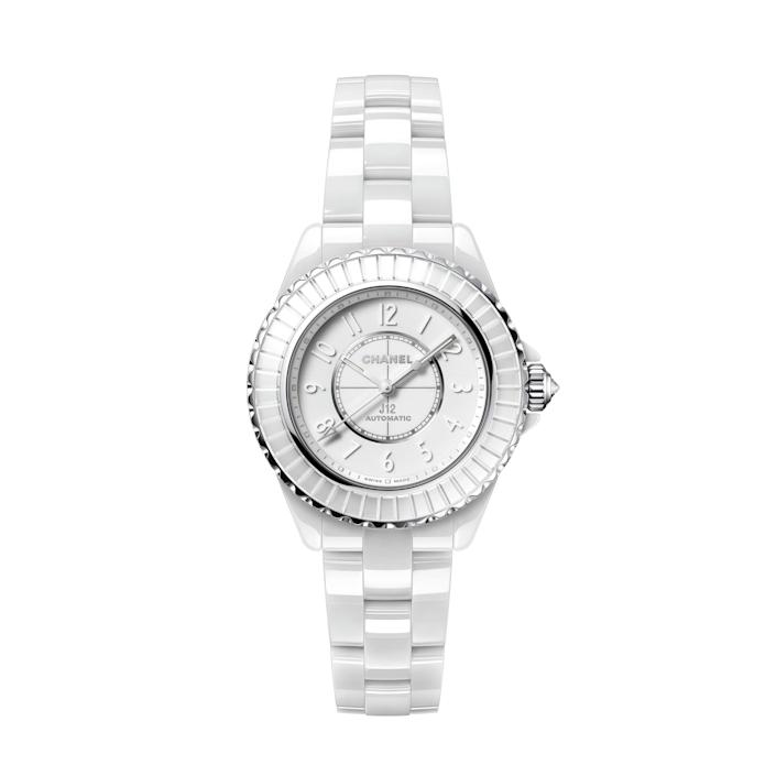 """<p><strong>Chanel</strong></p><p>chanel.com</p><p><strong>$11500.00</strong></p><p><a href=""""https://go.redirectingat.com?id=74968X1596630&url=https%3A%2F%2Fwww.chanel.com%2Fus%2Fwatches%2Fp%2F3599594163804%2Fj12-caliber-12-2-edition-1-watch-33-mm%2F%3FWFJmtrecclick%3Dtrue&sref=https%3A%2F%2Fwww.harpersbazaar.com%2Ffashion%2Ftrends%2Fg37684777%2Fromantic-gift-ideas-for-women%2F"""" rel=""""nofollow noopener"""" target=""""_blank"""" data-ylk=""""slk:Shop Now"""" class=""""link rapid-noclick-resp"""">Shop Now</a></p><p>It's quite possible that there's no romantic gift as foolproof as this one. </p>"""