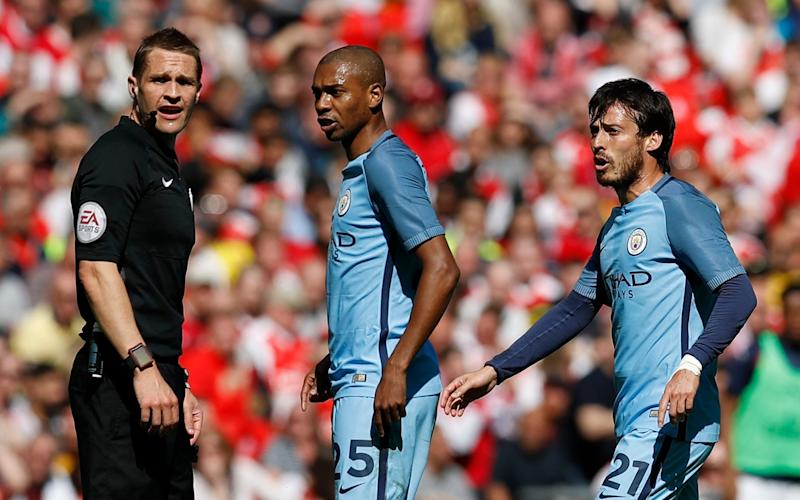 Manchester City had a legitimate goal ruled out in the second half - REUTERS