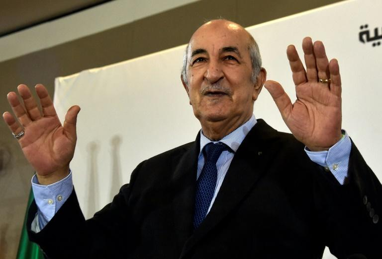 Abdelmadjid Tebboune was elected president of Algeria in a poll bitterly opposed by a months-old protest movement