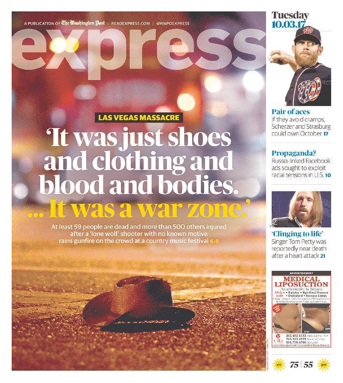 """<p>""""Express,"""" published in Washington, D.C. (newseum.org) </p>"""