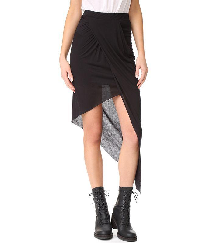 A breezy skirt is a comfortable option for a long day at a music festival.