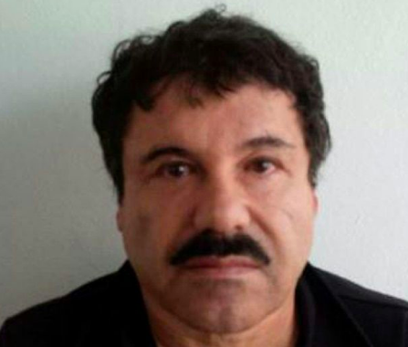 El Chapo is one of the world's most dangerous criminals. (AFP)