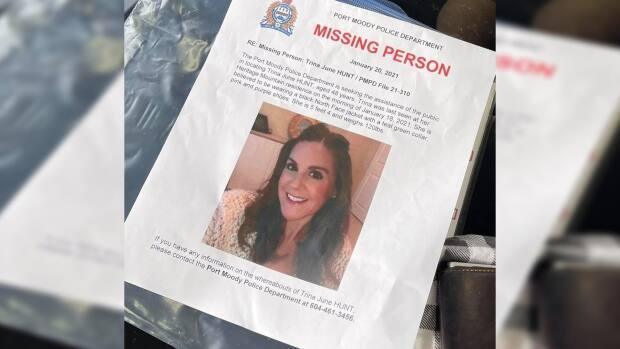 Hundreds of people in Port Moody searched for Hunt after her January disappearance.