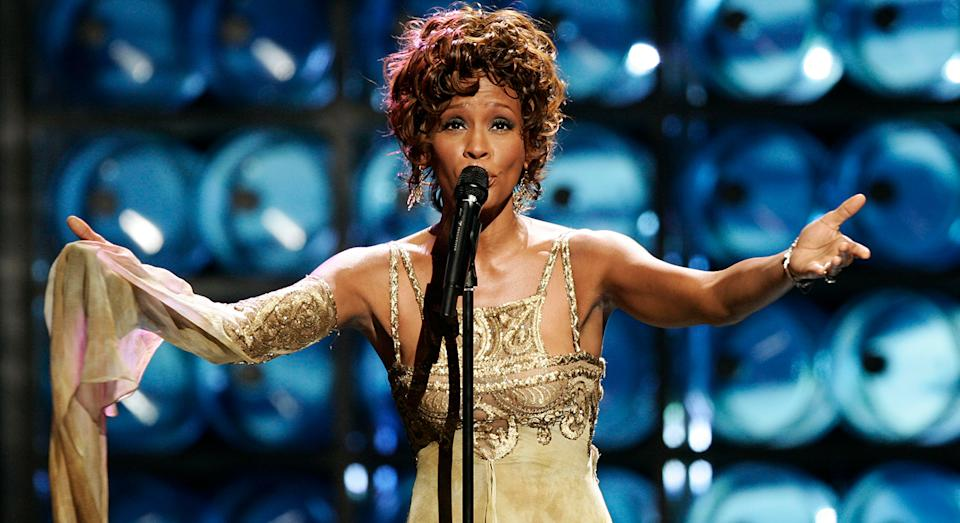 A Whitney Houston Hologram Tour is coming to the UK and Ireland next week. (Getty images)