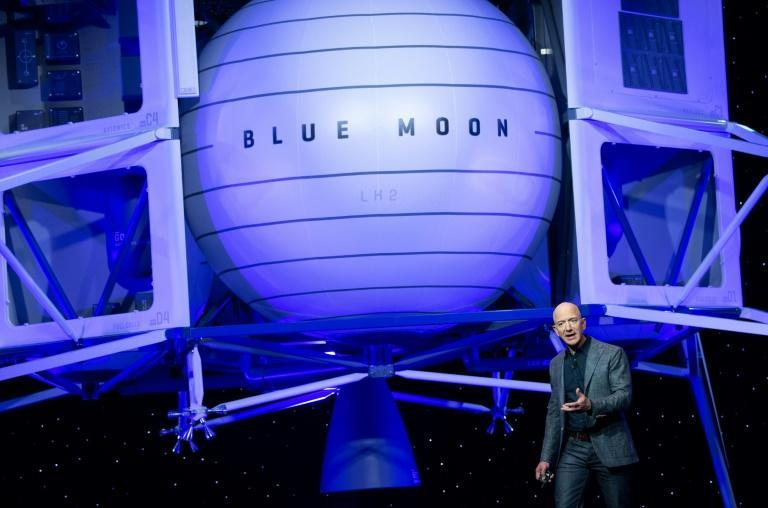 Bezos-founded space company Blue Origin has protested NASA's choice of Musk's SpaceX team to build a module that will land the next US astronauts on the moon