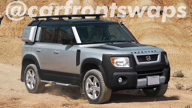 Land Rover Defender + Honda Element Mashup Is So Wrong, It's Right