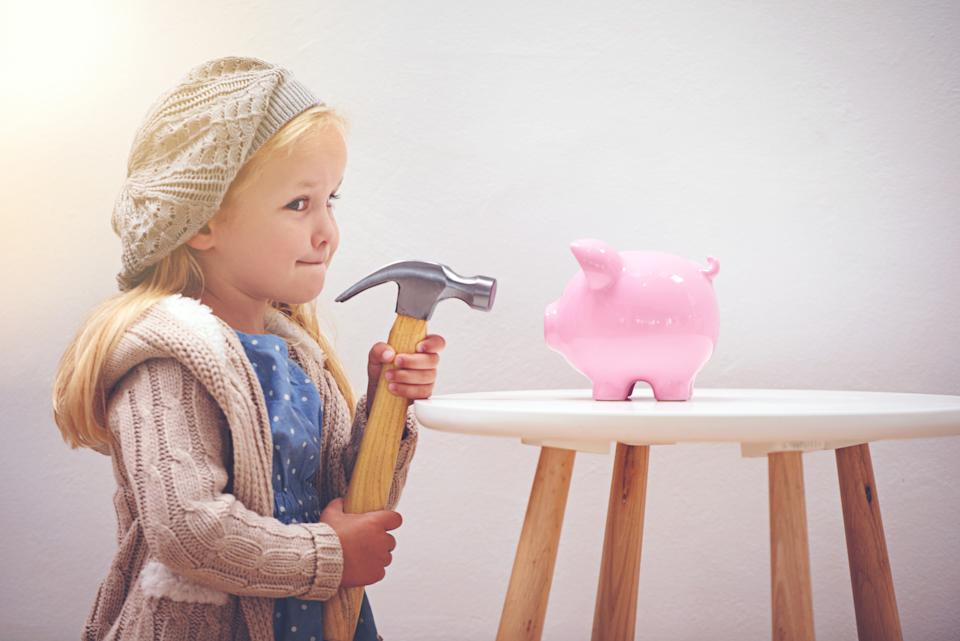 Teach your children solid financial habits. Image: Getty