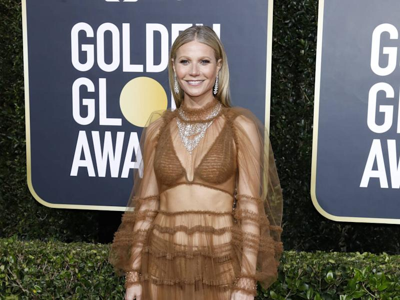 Gwyneth Paltrow became 'really skinny' after Brad Pitt breakup