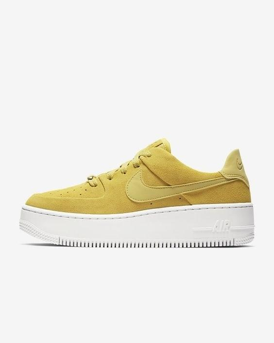 "This colorway is perfect for spring and summer. $100, Nike. <a rel=""nofollow"" href=""https://www.nike.com/t/air-force-1-sage-low-womens-shoe-b0cz8K/AR5339-300"">Get it now!</a>"