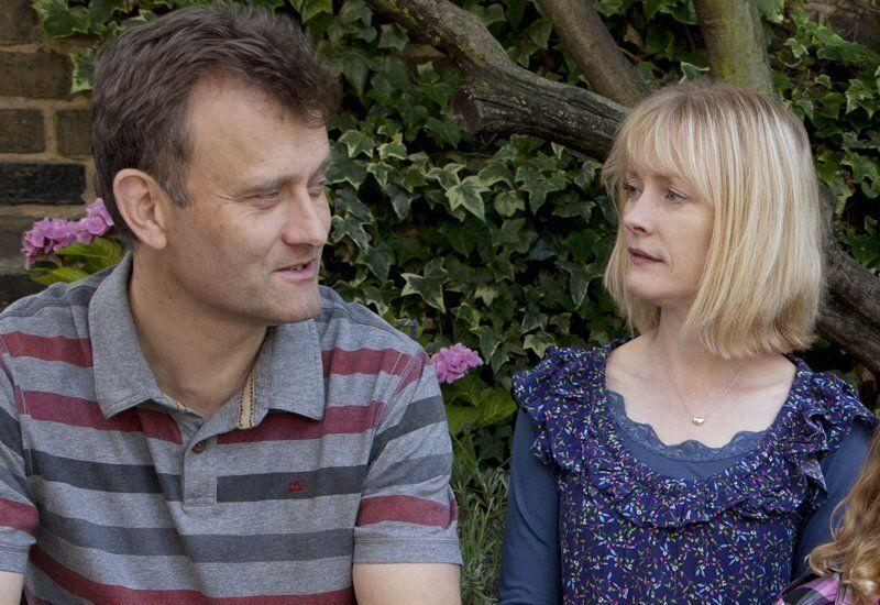Hugh and Claire in Outnumbered (Photo: BBC)