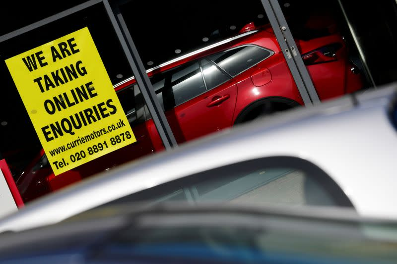 UK car production ramps up in July, still down 21% on year