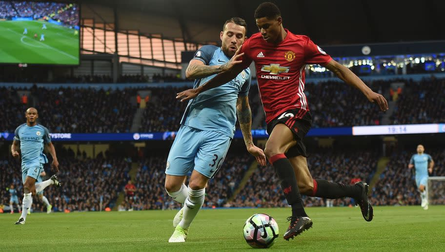 <p>Despite being strong in the air and tough in the tackle, the Argentinian has arguably been a tad disappointing since his big money move (£32m) from Valencia two years ago. </p> <br /><p>Yet he appears to have Pep Guardiola's trust, having featured throughout the campaign - but is that anything to do with captain Vincent Kompany's long-standing issue with injuries?</p>