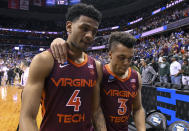 Best sports: men's basketball, men's and women's soccer. Trajectory: down. The Hokies registered their worst season of the five-year period, dropping 21 spots from 2018 to '19. The good news: Virginia Tech has made strides on the pitch, becoming a consistent NCAA tournament presence on the men's side and having a breakthrough season on the women's side. Men's basketball had one of its best seasons ever, but lost coach Buzz Williams afterward. Football needs to make a comeback.