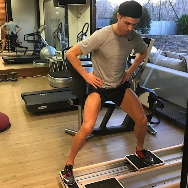 Working out in the gym – those leg muscles won't build themselves