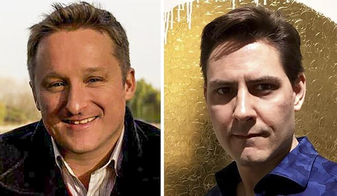 Two Canadians, Michael Spavor (left) and Michael Kovrig have been held since late 2018. Photo: Facebook