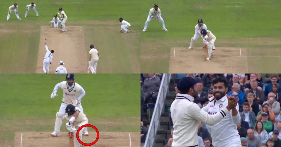 Watch: Ravindra Jadeja Castles Haseeb Hameed With A Perfect Delivery