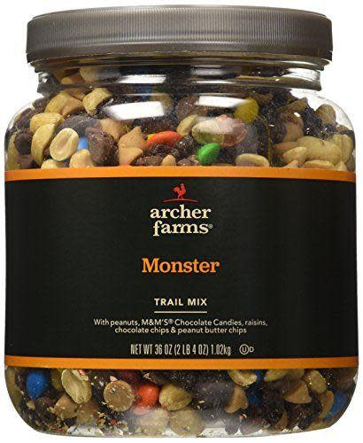 """<p><strong>Archer Farms</strong></p><p>amazon.com</p><p><strong>$20.55</strong></p><p><a href=""""https://www.amazon.com/dp/B005RFFWBA?tag=syn-yahoo-20&ascsubtag=%5Bartid%7C10049.g.32793292%5Bsrc%7Cyahoo-us"""" rel=""""nofollow noopener"""" target=""""_blank"""" data-ylk=""""slk:Shop Now"""" class=""""link rapid-noclick-resp"""">Shop Now</a></p><p>Not just for hikes! Also for when your stomach gets a bit grumbly even though you've already had dinner! </p>"""