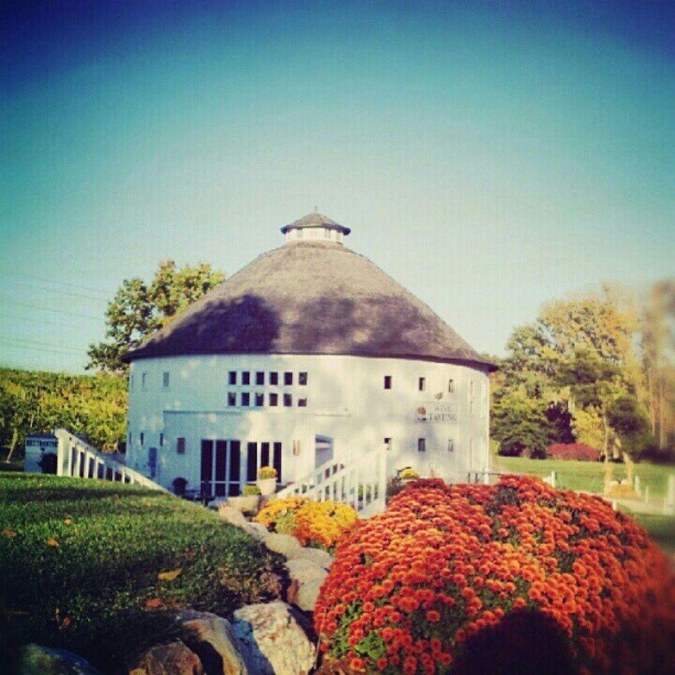 """<p><a href=""""https://foursquare.com/v/round-barn-winery-distillery--brewery-estate/4bb3a22642959c747b39222c"""" rel=""""nofollow noopener"""" target=""""_blank"""" data-ylk=""""slk:Round Barn Winery, Distillery & Brewery Estate"""" class=""""link rapid-noclick-resp"""">Round Barn Winery, Distillery & Brewery Estate</a> in Baroda</p><p>""""Great stop for groups on <span class=""""entity tip_taste_match"""">wine</span> <span class=""""entity tip_taste_match"""">tours</span>. Try the deeper reds. Not all into <span class=""""entity tip_taste_match"""">vino</span>? There's something for everyone: the <span class=""""entity tip_taste_match"""">beer barn</span> allows even saison snobs to find a bevvie they'll love.<span class=""""redactor-invisible-space"""">"""" - Foursquare user <a href=""""https://foursquare.com/goebeljulia"""" rel=""""nofollow noopener"""" target=""""_blank"""" data-ylk=""""slk:Julia G."""" class=""""link rapid-noclick-resp"""">Julia G.</a></span></p>"""
