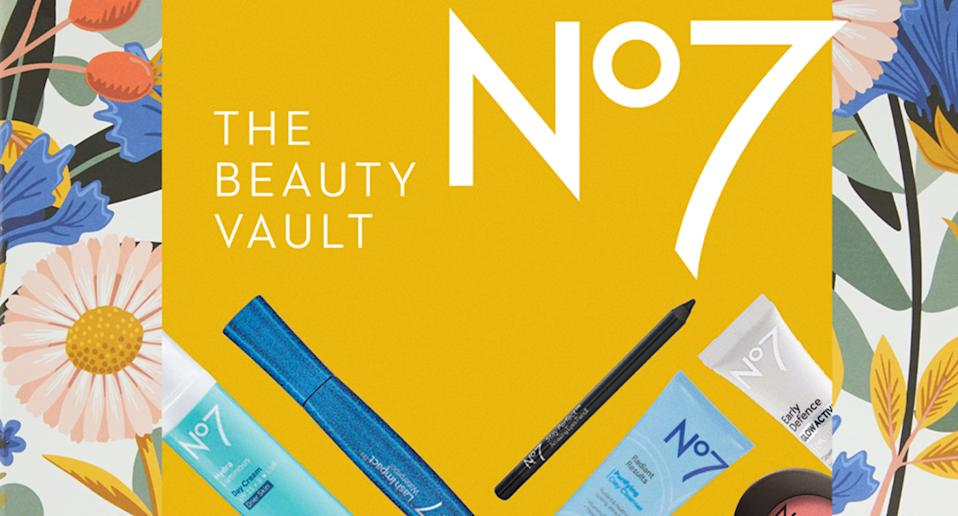 Treat yourself or a special someone to the ultimate DIY pamper with No7's Beauty Vault. (No7)
