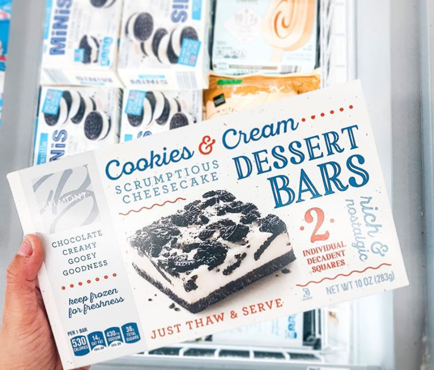 "<p>Cookies and cream <em>and</em> cheesecake? Aldi is basically a <a href=""https://www.instagram.com/aldi.mademedoit/"" rel=""nofollow noopener"" target=""_blank"" data-ylk=""slk:genius"" class=""link rapid-noclick-resp"">genius</a> matchmaker for desserts. Creamy, crunchy, chocolatey-ness that comes on demand when you thaw and serve (to yourself, of course) means it's no surprise that this frozen dessert has quickly garnered a devoted fan base. </p>"