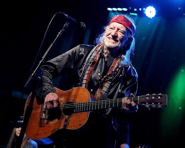 <p>The country music legend turned 84 on April 29. A week later, he released a new album, <em>God's Problem Child</em>. The album debuted at No. 1 on Top Country Albums and cracked the top 10 on he Billboard 200. Now, that's aging gracefully. (Photo: Getty Images) </p>