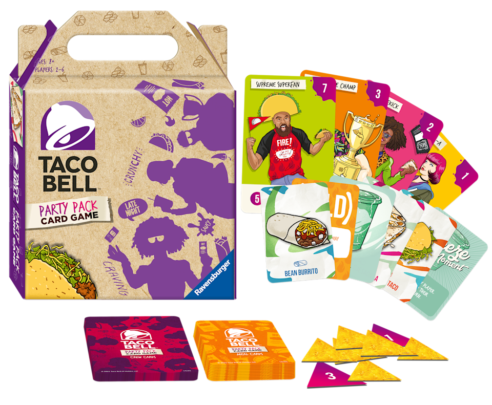 The Taco Bell Party Pack Card Game (Photo: Courtesy of Ravensburger)