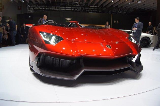 Weighing 1,575kg, the car has a 691bhp 6.5-litre V12 engine