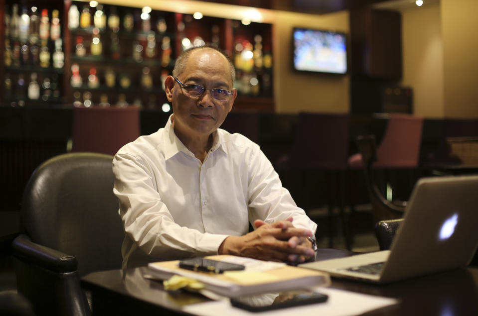 FILE PHOTO: Philippine central bank governor Benjamin Diokno. (AP Photo/Aaron Favila)