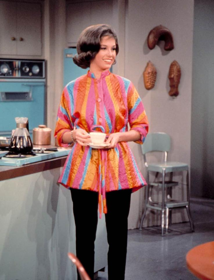 "<b>Laura Petrie, ""The Dick Van Dyke Show""</b>  <b>Signature Style:</b> ""I had Laura wear pants,"" Mary Tyler Moore explained of her famous cigarette-style slacks, ""because I said, 'Women don't wear full-skirted dresses to vacuum in.'""  <b>Why We Love Her:</b> Just 24 when she was cast in this 1961-1966 comedy, Moore put a youthful spin on her traditional role of Laura Petrie ... and did her part to modernize the typical TV housewife's wardrobe, as well.   <a href=""http://www.instyle.com/instyle/package/general/photos/0,,20475181_20475164_20930204,00.html?xid=omg-10blondes?yahoo=yes"" target=""new"">The Top 10 Blondes in Hollywood</a> Everett Collection"