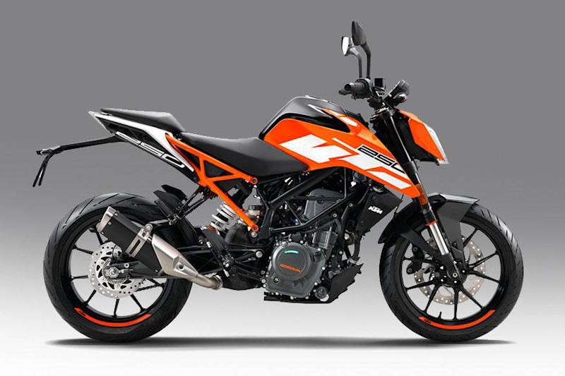 KTM 250 Duke. (Photo Courtesy: KTM)