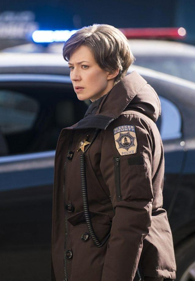 Carrie Coon as Gloria Burgle in FX's 'Fargo' (Credit: Chris Large/FX)