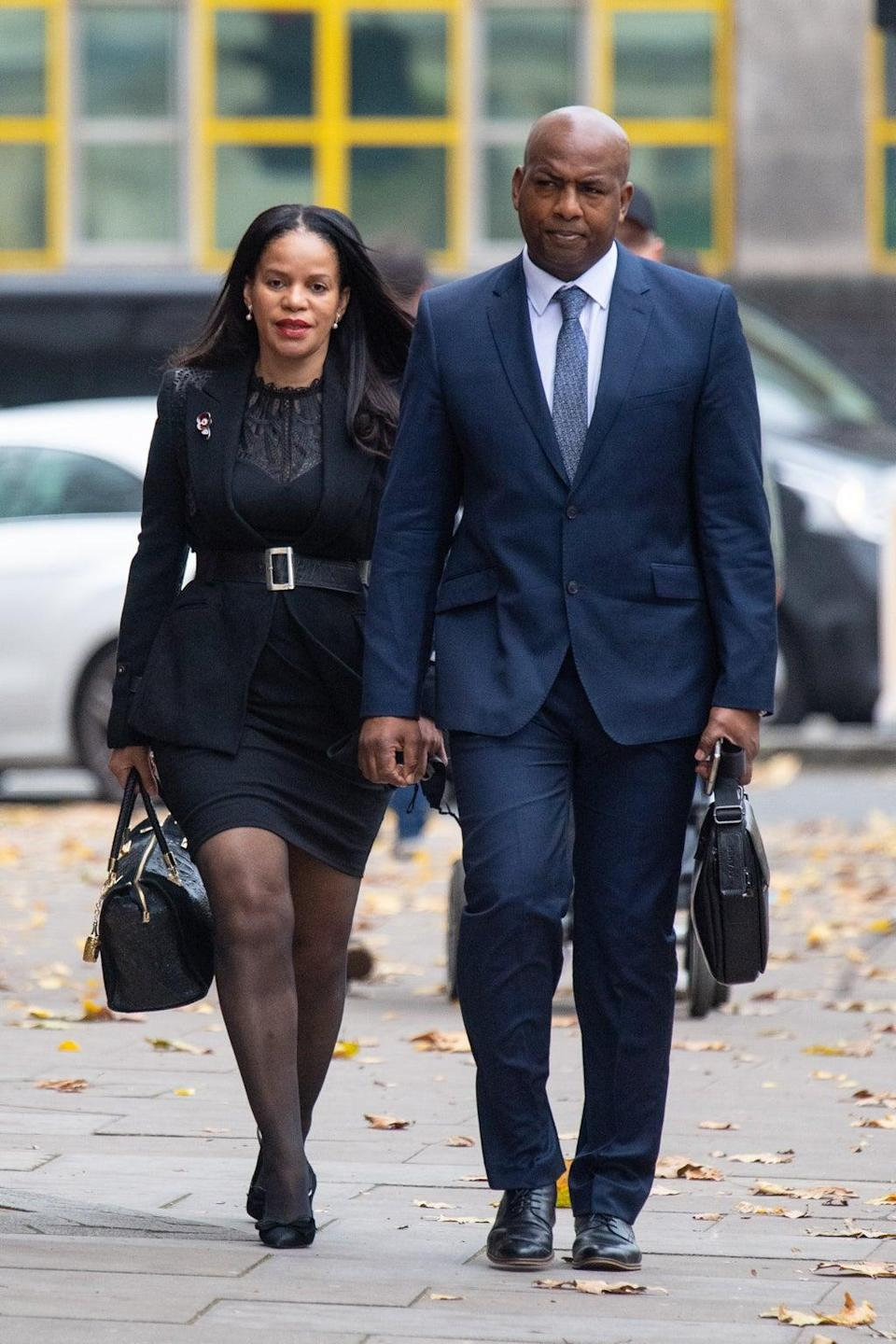 Leicester East MP Claudia Webbe arrives at Westminster Magistrates' Court (Dominic Lipinski/PA) (PA Archive)