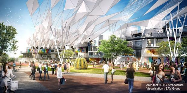 The proposed Penang Arts District will be mainly made up of shipping containers.