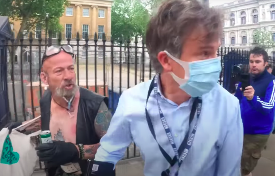 Man charged after BBC journalist chased in London