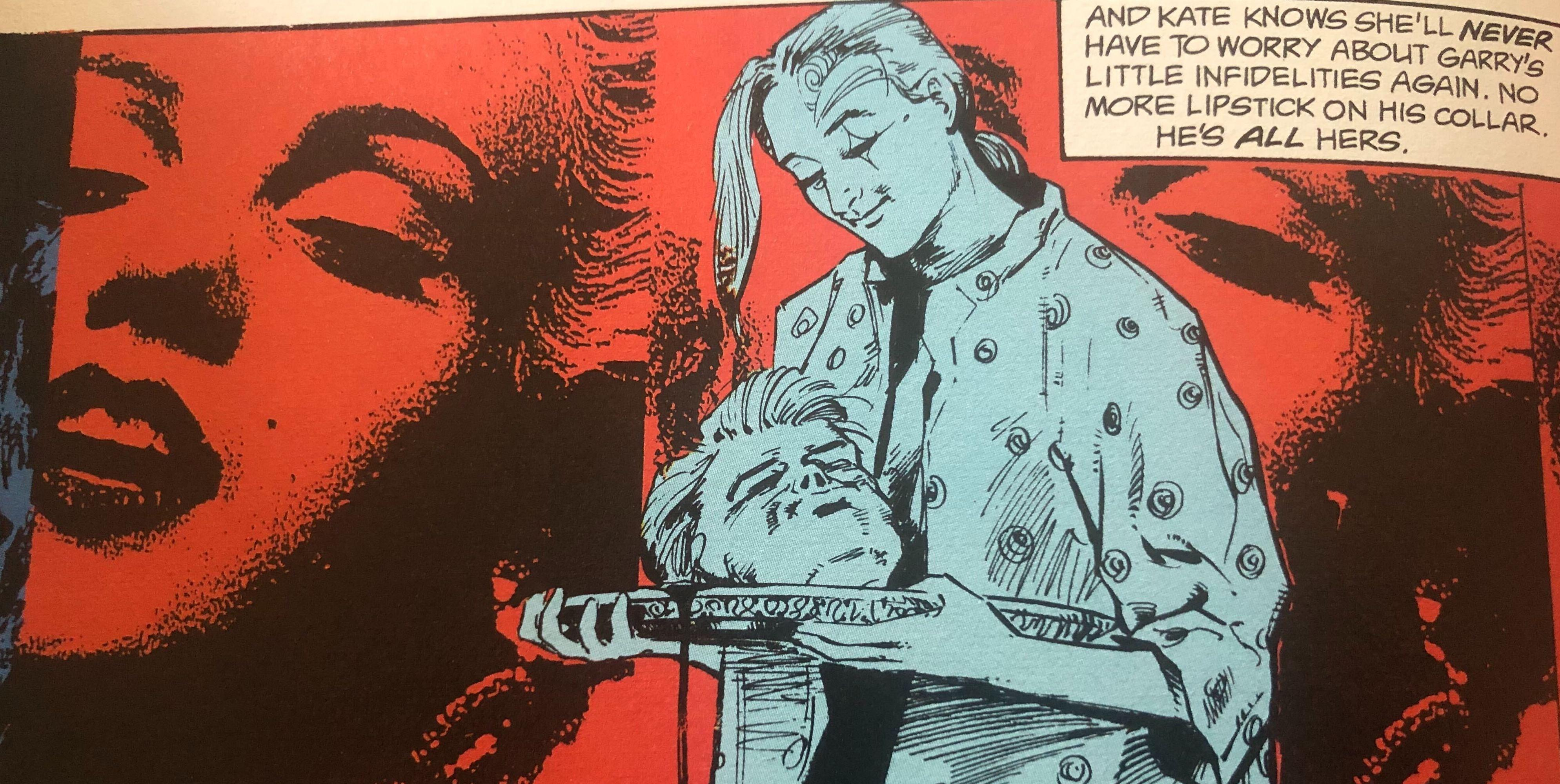 A panel from '24 Hours' one of the scariest 'Sandman' stories (Photo: DC Comics)