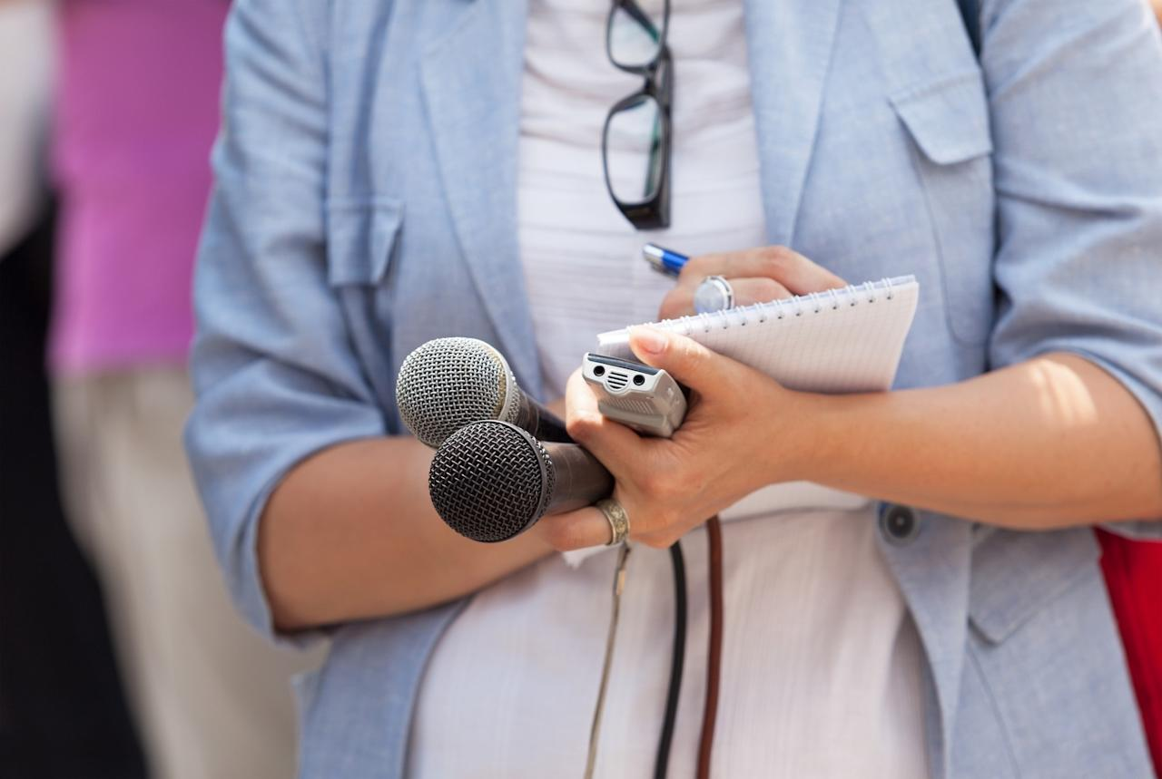 <p>No. 10 least respected: Journalist<br />Percentage of positive opinions: 62 per cent<br />(Mihajlo Maricic / EyeEm / Getty Images) </p>