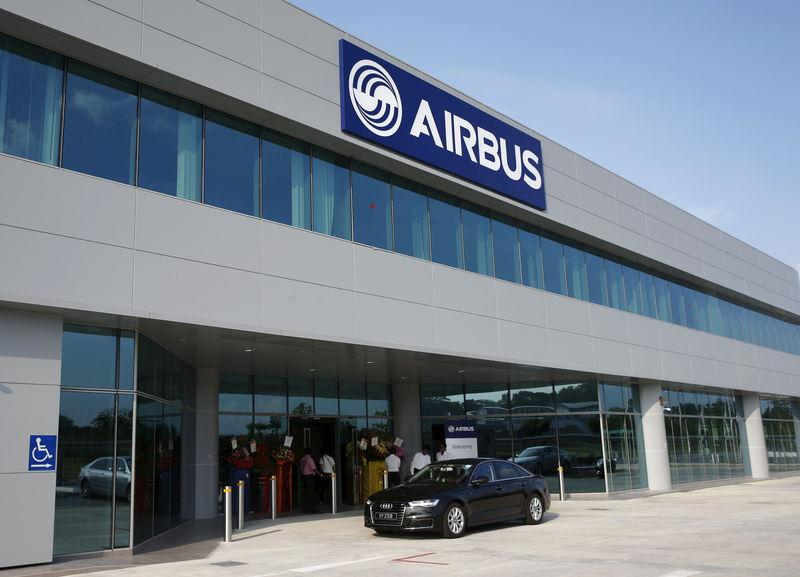 A general view of the new Airbus Asia Training Centre in Singapore
