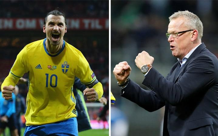 Janne Andersson dismissed suggestions Zlatan Ibrahimovic could reverse his international retirement  - Sweden Getty Images