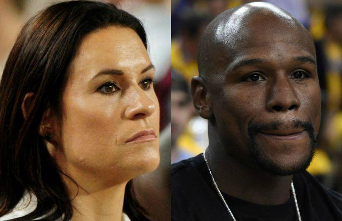 People Aren't Happy About Jen Welter, the First Female NFL Coach, Accepting an Invitation to Floyd Mayweather's Fight