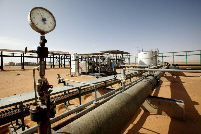 FILE PHOTO: A general view of the El Sharara oilfield, Libya