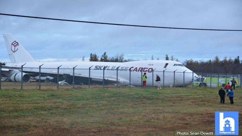 Canada Halifax Airport: Boeing 747 Cargo Plane Skids off Runway Injuring Four Crew Members