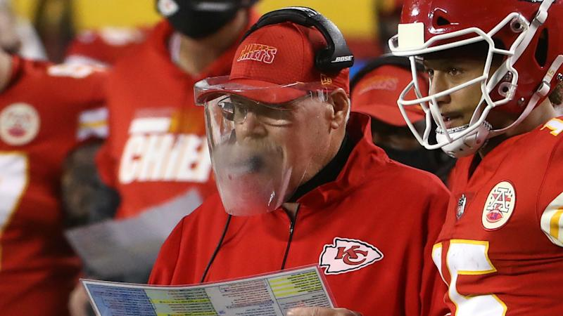 Ravens' John Harbaugh nixes face shield plan after watching Andy Reid struggle on 'TNF'
