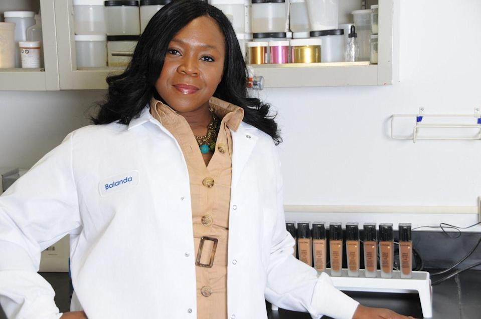 "<p>If there's one woman you can thank for the few major beauty brands that have truly inclusive foundation shade ranges, it's Balanda Atis. </p><p>The Director of Face & Multi-Cultural Beauty for <a href=""https://www.loreal.com/en/"" rel=""nofollow noopener"" target=""_blank"" data-ylk=""slk:L'Orèal"" class=""link rapid-noclick-resp"">L'Orèal</a>, Atis has been the driving force behind expanding make-up shade ranges to suit all Black skin tones (rather than just a token one or two) among brands that range from Lancôme and Maybelline, to Urban Decay and Armani, to name just a few.</p><p>Through her pioneering cosmetic science and education, Atis has worked behind the scenes for years, to change the game for Black women who deserve to have access to mainstream beauty products that cater to their skin tone (minus the old school ashy finish). No longer an afterthought, Atis has brought make-up for Black women to the forefront, precisely where it should be.</p>"