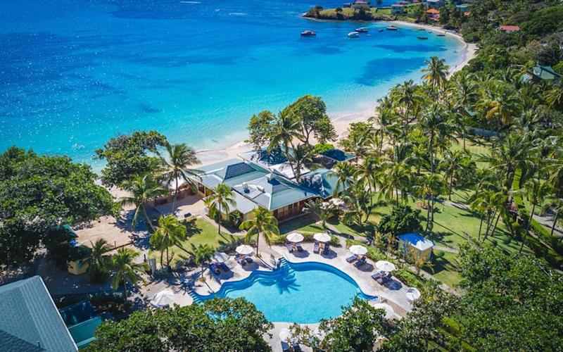 Bequia Beach Hotel - one of St Vincent and the Grenadines's best hotels