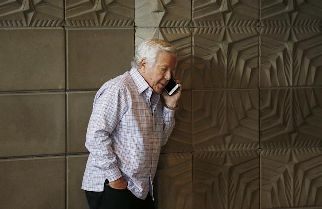 New England Patriots owner Robert Kraft, pictured, said he hopes the team keeps Malcolm Butler. (AP)