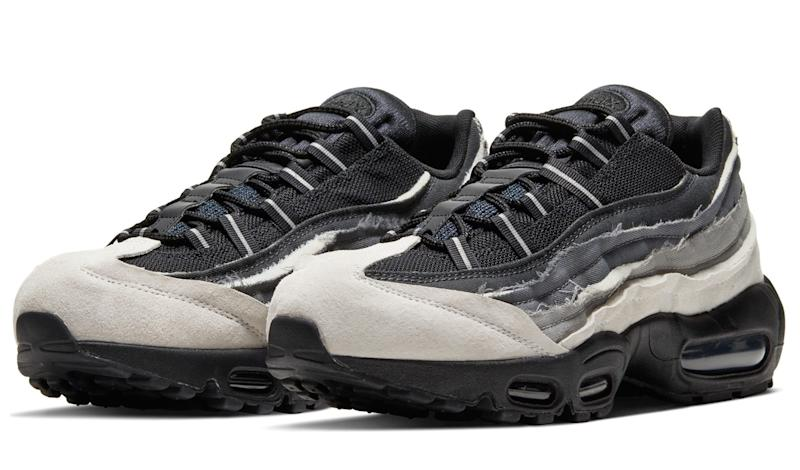 Comme Des Garcons x Nike Air Max 95 'Gray'