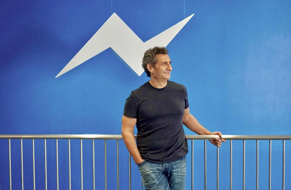 """Messenger is already to some extent, a people directory or white pages,"" explains Stan Chudnovsky, Facebook's Head of Messenger Product. Source: JP Mangalindan/Yahoo Finance"